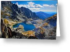 Crystal Lake Greeting Card by Inge Johnsson