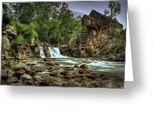 Crystal Mill   Greeting Card