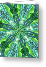 Crystal Ocean Greeting Card by Donna Blackhall
