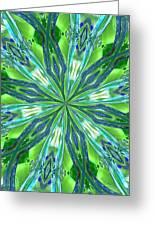 Crystal Ocean Greeting Card by Donna Blackhall