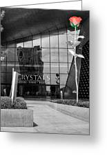 Crystal Rose Greeting Card