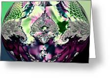 Crystal Royale Fractal Greeting Card