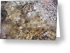 Crystalline Water Greeting Card