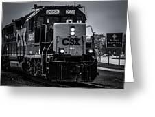 Csx 2668 Greeting Card