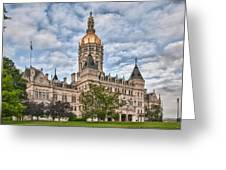 Ct State Capitol Building Greeting Card
