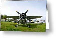 Polikarpov Po-2 Greeting Card