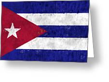 Cuba Flag Greeting Card