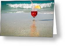 Cuban Sangria Mix Greeting Card