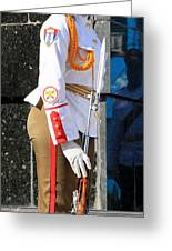 Cuban Soldier 1 Greeting Card