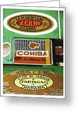 Cubanos Greeting Card
