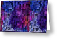 Cubed 2 Greeting Card by Jack Zulli