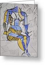 Cubist Expression Greeting Card