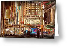 Grand Central And 42nd St Greeting Card