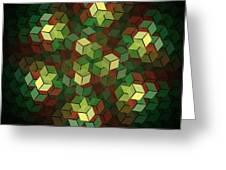 Cubix Greeting Card