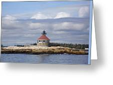 Cuckolds Lighthouse Greeting Card