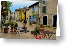 Cucuron In Provence Greeting Card