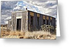 Cuervo New Mexico  Greeting Card