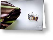 Cuff Links Greeting Card