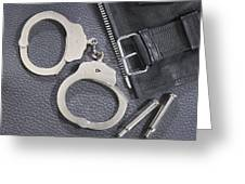 Cuffs Greeting Card