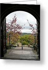 Culinary Institute Of America At Greystone Greeting Card