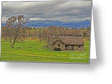 Culloden Moor And Old Leanarch Greeting Card