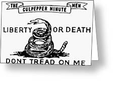 Culpepper Minutemen Greeting Card