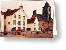 Culross Sketches 3. Scotland Greeting Card