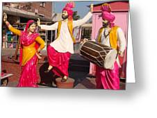 Culture Of Punjab Greeting Card