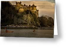 Culzean Castle Scotland Greeting Card by Alex Saunders