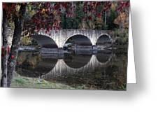 Cumberland Falls Bridge Greeting Card