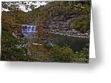 Cumberland Falls E Greeting Card
