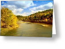 Cumberland River Greeting Card
