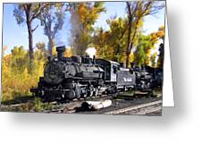 Cumbres And Toltec Railroad Greeting Card