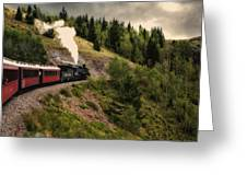 Cumbres And Toltec Train Co And Hm Greeting Card