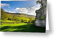 Cumbrian View Greeting Card