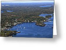 Cundis Harbor, Maine Greeting Card