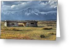 Cunningham Cabin Greeting Card