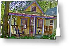 Cup Cake In Asbury Grove In South Hamilton-massachusetts  Greeting Card