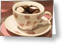 Cup Of Chocolate Greeting Card