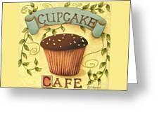 Cupcake Cafe Greeting Card