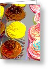 Cupcake Suite Greeting Card