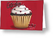Cupcakes 25 Cents Greeting Card