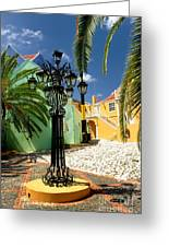 Curacao Colorful Architecture Greeting Card by Amy Cicconi