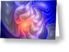 Curbisme-86-b Greeting Card