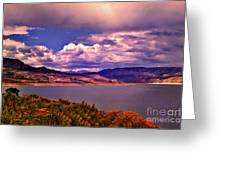 Curecanti Autumn Blue Mesa Colorado Greeting Card