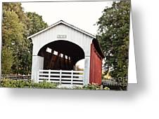 Currin Covered Bridge Greeting Card