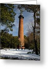 Currituck Beach Lighthouse Corolla Nc Color Img 3772 Greeting Card