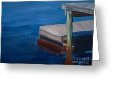 Currituck Dock Greeting Card