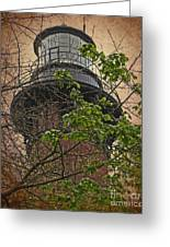 Currituck Light House Greeting Card