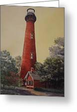Currituck Lighthouse Greeting Card